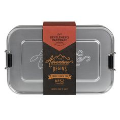 Metal Lunch Box Large | Gentlemen's Hardware | View by Collection | Wild & Wolf