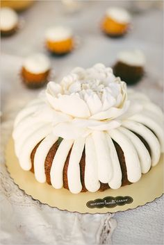 desserts by Nothing Bundt Cakes