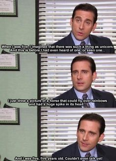 Most memorable quotes from Michael Scott, a movie based on film. Find important Michael Scott Quotes from film. Michael Scott Quotes about life in the Dunder Mifflin paper company. Movie Quotes, Funny Quotes, Funny Memes, Silly Jokes, Lyric Quotes, Family Quotes, Quotes Quotes, Dundee, Best Tv Shows