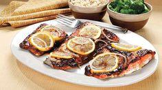 Miso Lemon Salmon