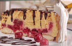 Torta sa malinama i piškotama