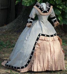 Original Civil War Era Ball Gown C 1860s | eBay