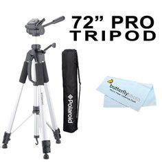 Professional 72 TRIPOD FOR All Canon Sony, Nikon, Samsung, Panasonic, Olympus, Kodak, Fuji, Cameras And Camcorders + BP MicroFiber Cleaning Cloth $18.95