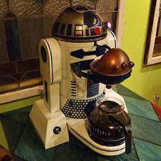 R2D2 Coffeemaker #euquero #coffee #cafe #kaffe #cafeina #starwars #movies #idols