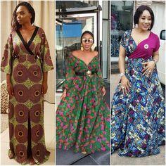 CURRENT FASHION: MAXI ANKARA DRESS STYLES