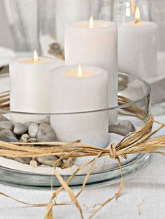Decorazioni candele fai da te! 20 idee per abbellire casa in modo creativo…