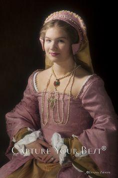 Circa 1540's Tudor gown