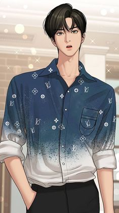 Suho, Angel Wallpaper, Boys Wallpaper, Handsome Anime Guys, Cute Anime Guys, Angel Aesthetic, Aesthetic Anime, Cute Couple Art, Cute Couples
