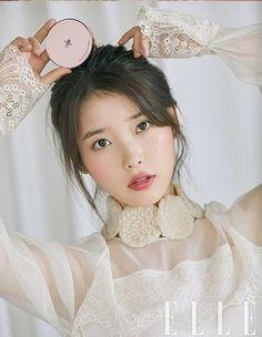 Photo album containing 9 pictures of IU Elle Magazine, Korean Makeup, Korean Beauty, Teen Photography, She Girl, Iu Fashion, Ulzzang Girl, Pretty People, Kpop Girls