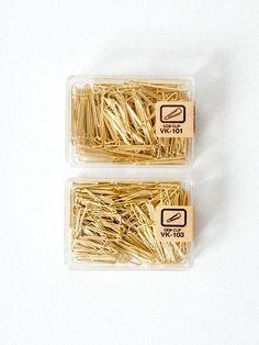 Brass Paper Clips - rikumo