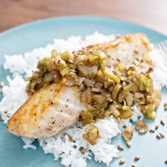 Halibut with Brown Butter, Lime and Aged Fish Sauce