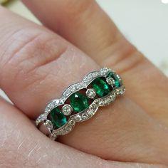 Happy birthmonth, May babies!  #schomburgs #jewelers #shoplocal #familybusiness #columbusga #shopsmall #emerald #diamond #ring #may #birthstone #happybirthday #yesplease #mayday #jewelrygoals #sparkle #green #bling