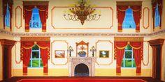 Victorian Parlor Summer - B Professional Scenic Backdrop
