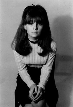 Nothing Seems As Pretty As The Past: Rare Photographs: Chrissie Shrimpton || 60s