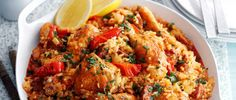 A spicy Spanish one pot. Made with chicken and chorizo and plenty of hot smoked paprika, this is a gutsy rice dish that is sure to impress friends and family.