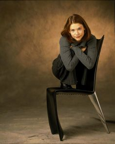 The world is a mess. Here's Claire Danes in a chair. Best Tv Characters, People Need The Lord, Angela Chase, The Floor Is Lava, Abc Photo, Chair Pose, Claire Danes, Laughing And Crying, Hugh Dancy