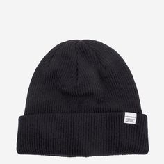 4b5714be9b2 Norse Projects Norse Beanie Hat Navy