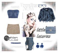 """Fashion rules"" by zabead ❤ liked on Polyvore featuring Dsquared2, Haute Hippie, Jonathan Simkhai, Valentino, Mary Katrantzou, Allurez and Ranjana Khan"