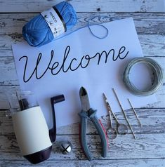Come fare scritte con il tricotin • La soffitta di Serena String Art, Little Sisters, Diy Tutorial, Deco, Knitting, Pattern, Case, Names, Tejidos