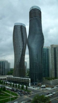 Absolute Towers in Mississauga, Canada