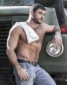 Think, that blue collar men naked very well