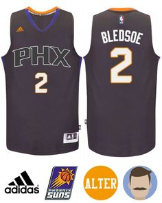 62f05a7a80f Men s Eric Bledsoe  2 Black Purple New Swingman Alternate Jersey Vintage Basketball  Jerseys