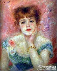 I love Renoir :)  I kinda want to do portraits of my friends now... hmmm... any volunteers?!