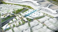 'Union Station West' proposed for area around Pearson airport - Toronto Star Golden Horseshoe, Toronto Airport, Airport Transportation, New Architecture, Toronto Star, Commute To Work, Canadian History, Light Rail, Union Station