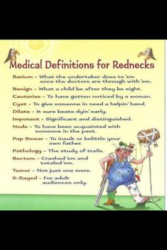 Medical terminology for rednecks #medicaltranscriptionhumor #medicaltranscriptionist