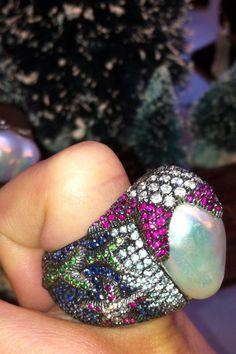 """unbelievable craftsmanship on this Atelier Minyon ring!"""