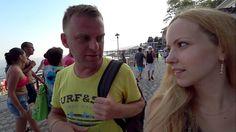 Крым. Интервью с УКРАИНЦЕМ. Самвел Адамян. Ялта 2017, массандровский пляж.