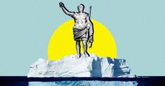 Lead from Roman coin production was deposited in Greenland's ice, leaving a record of ancient economic activity.