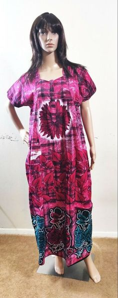 Indian cotton Nighty floral type with zip model  fashion  clothing  shoes   accessories a39bb0104