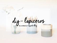 DIY - LAPICEROS CON SPRAY
