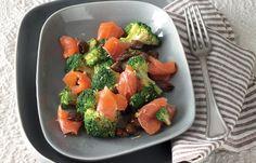 aprende cómo hacer Trucha salada con brócoli en este post http://exquisitaitalia.com/trucha-salada-con-brocoli/ #recetas #recetasitalianas
