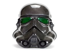 Carbon Fiber Stormtrooper Helmet: This carbon fiber Stormtrooper helmet was designed by Leonard Carson of San Diego Composites. He designed five of them out of which four helmets are not for sale because there were four other members involved in their making. This helmet is more ...Read More @ http://greateststuffonearth.com/carbon-fiber-stormtrooper-helmet/