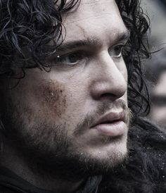 Kit Harington comme Jon Snow - Game of Thrones