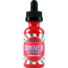 Strawberry Custard - Dinner Lady E Liquid #vape #vaping #eliquid