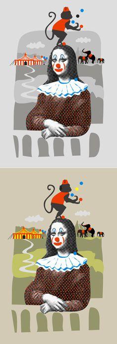 Still Life [Adriana de Barros] (Gioconda / Mona Lisa)