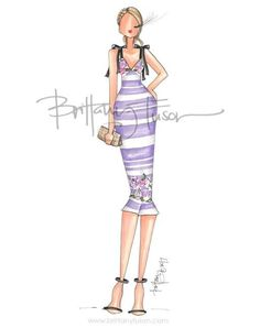 #Spring #Outfit #Goals #FashionIllustrations @brittanyfuson| www.brittanyfuson.com| Be Inspirational❥|Mz. Manerz: Being well dressed is a beautiful form of confidence, happiness & politeness