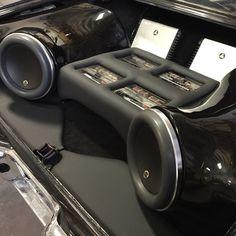 64 chevelle malibu custom car stereo trunk install jl audio subs amps turbo lsx motor ls