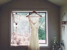 Vintage 1940s silk