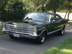 Sell used 1967 Galaxie 500 Fastback 429, C6 & GEAR VENDORS O/D ...