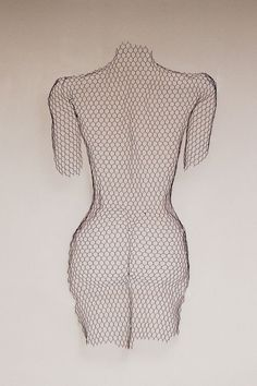 A sculpture titled 'Female nude - Back (Wire NettingTorso statue)' by artist William Ashley-Norman in the category Interior, Indoors, Inside Sculpture. This sculpture has the dimensions of 120 x 70 x 15 cm and is an edition number of 1/1, the sculpture is sculpted from a medium of 'Chickenwire steel mesh'. Chicken Wire Netting Nude Woman/Female Torso Back View Wall Hanging Sculpture For Either Outdoor Outside Exterior Display in the Garden or Inside Indoors Hung on a Wall By William ...
