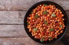 Cómo hacer potaje de garbanzos #recetas #verduras #hortalizas