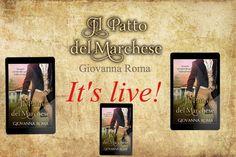 (¸.•´ (¸.•` IT'S LIVE! ¤ *.✫*¨*.¸¸.✶*¨`* ★ ☆ Scoprite il #Regency, #IlPattoDelmarchese https://www.amazon.it/patto-del-marchese-Giovanna-Roma-ebook/dp/B01FROZ15M