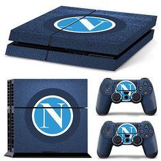 SKIN PS4 NAPOLI COVER STICKER ADESIVO PS4 PLAYSTATION 4 + JOYPAD