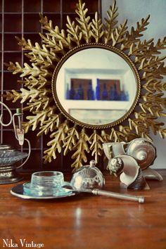 Los Mundos de Nika Vintage: Espejo sol and cia