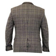 Mens-Wool-Mix-Slim-Fit-Tweed-Blazer-Jacket-By-Cavani