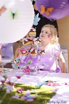 You searched for Butterfly Birthday Party Decor - Ashley Hackshaw / Lil Blue Boo Butterfly Garden Party, Butterfly Birthday Party, Garden Birthday, Girl Birthday, Birthday Ideas, First Birthday Parties, Birthday Party Decorations, Table Decorations, Childrens Party